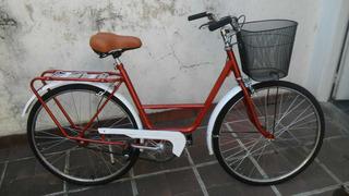 Bicicleta De Paseo Musetta Con Canasto