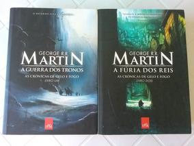Livro Colecao Game Of Thrones (2 Livros)