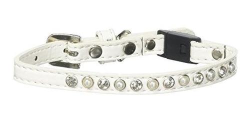 Mirage Pet Products 625-3 Et14 Perla Y Collar Claro Jewel Br