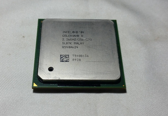Intel Celeron D 315 2,26ghz Sl87k Socket 478