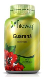 Guaraná 500mg - Fitoway - 60 Cápsulas
