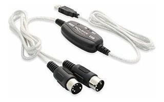 Cable Adaptador Audio Sonido Teclado Interfaz Midi Usb