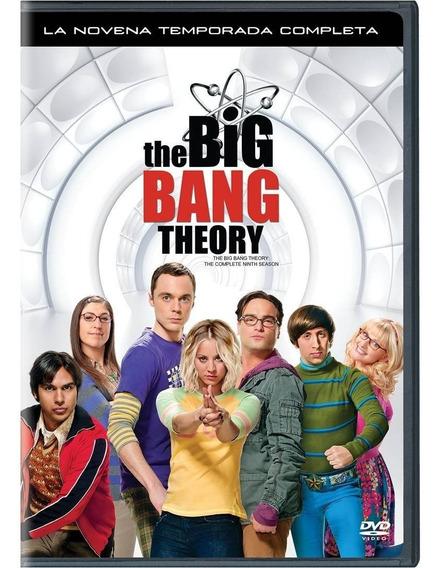 The Big Bang Theory Novena Temporada 9 Serie Dvd