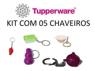 Kit De Chaveiros Miniatura - 5 Peças - Tupperware