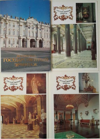 Lote De 10 Postales De Rusia
