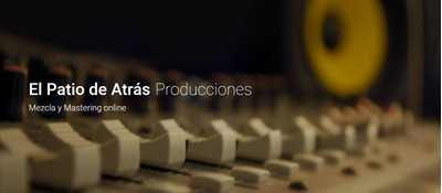 Estudio De Grabación, Mezcla, Mastering Y Producción Sonora