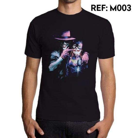 Camiseta Masculina Coringa Dc Comics Batman Geek Outfit