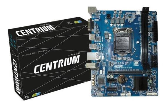 Placa Mãe Intel 1151 H110m-hds Ddr4 Usb3,0 Hdmi Asrock