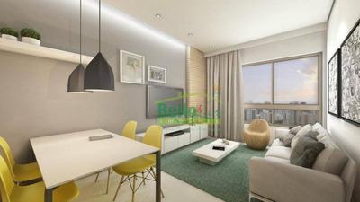 Flat Com 2 Dormitórios À Venda, 43 M² Por R$ 533.672 - Parnamirim - Recife/pe - Fl0059