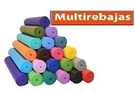 Colchoneta Yoga Mat Pilates Ejercicios Fitnes A Domicilio
