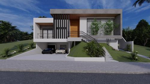 Imagem 1 de 4 de Casa Com 4 Dormitórios À Venda, 306 M² Por R$ 1.690.000,00 - Urbanova - São José Dos Campos/sp - Ca1029