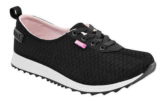 Zapato Piso Textil Gösh Mujer Negro C44509 Udt