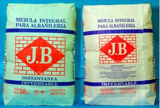 Mezcla Integral Para Albañileria J . B X 50 Kg.