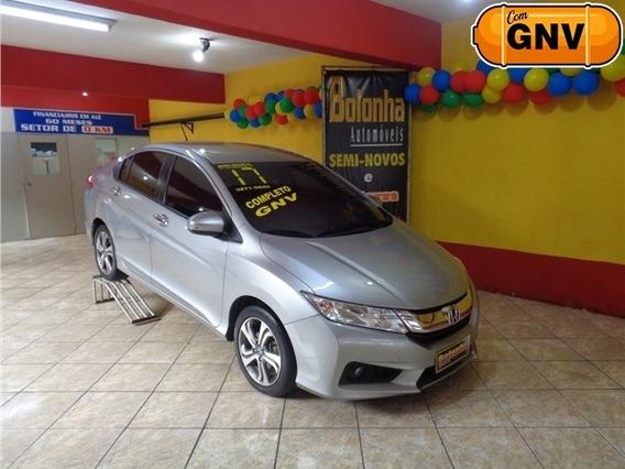 Honda City 1.5 Ex 16v Flex 4p Automático + Gnv