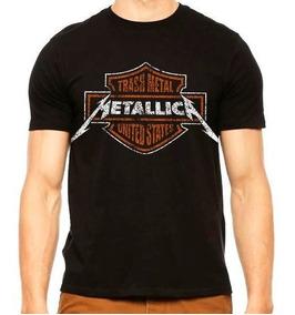 Playera Metallica Harley Davidson Disponible Promociones
