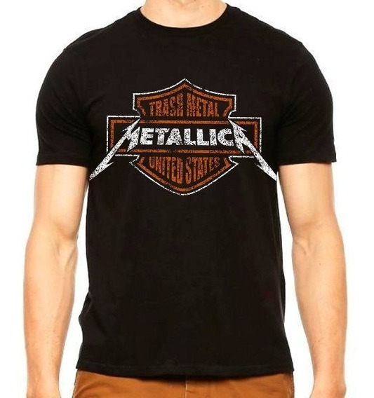 Playera Metallica Harley Davidson Disponible Promociones