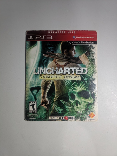 Uncharted Drake's Fortune Ps3 Usado Campinas