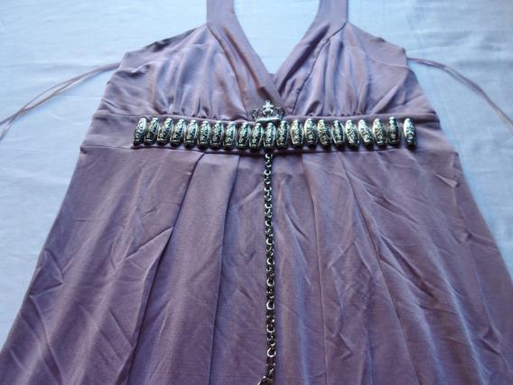Vestido De Noche Fiesta Marca Rosh Exclusivo Talle M