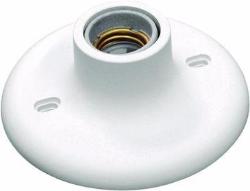 Plafon Plafonier Soquete Bocal Porcelana P/ Lâmpada Kit 30un