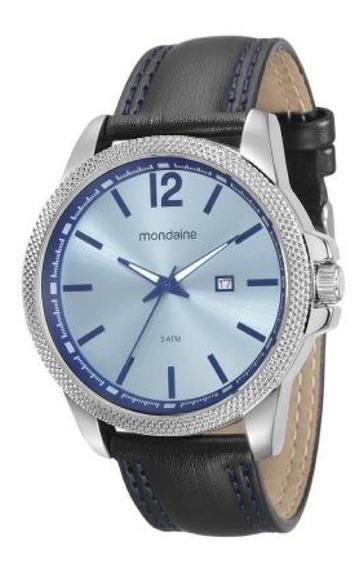 Relógio Masculino Mondaine Análogo Social 94980g0mvnh1 C/ Nf