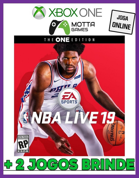 Nba Live 19 - Xbox One Digital Online + 2 Brindes !