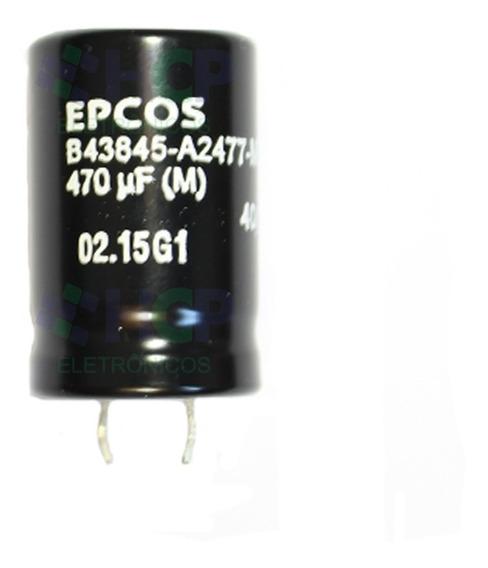 Capacitor Eletrolítico 470uf X 200v Epcos Original