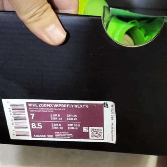 Nike Vaporflay Next% Tamanho 40.5 Brasil
