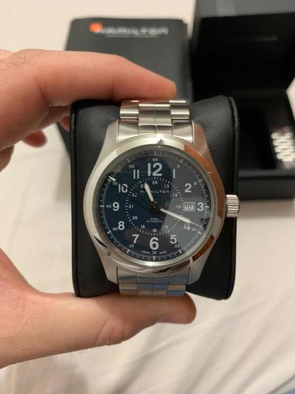 Relógio Hamilton Khaki Field Automático