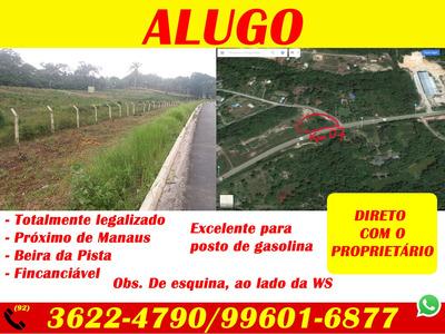 Alugo Terreno De Esquina Na Br-174 Km 07