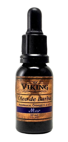 Óleo De Barba Viking Mar