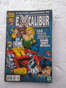 Marvel Comics -4-a Última Aventura Do Excalibur
