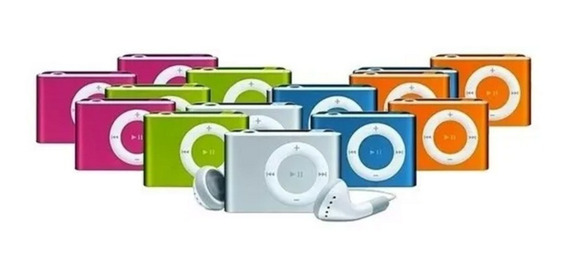 Mp3 Reproductor Shuffle Clip Audifono + Cable Usb