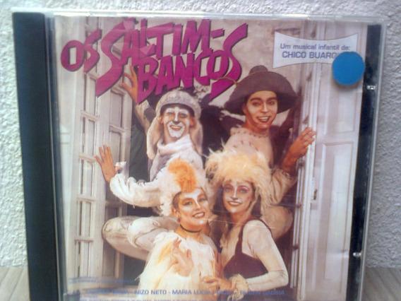 Cd Os Saltimbancos - Trilha De Teatro 1992 ( Chico Buarque )