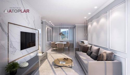 Apartamento Com 1 Suíte + 1 Dormitório À Venda, 69 M² - Casa Branca - Itapema/sc - Ap2140