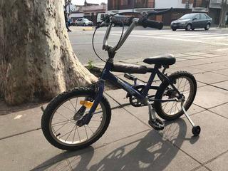 Bicicleta Cross Con Rueditas