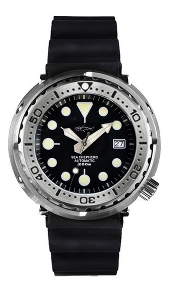 Heimdallr Tuna Automatico Diver Prova Dágua 200m Seiko Nh35a
