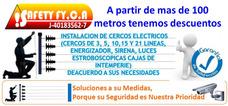 Instalación De Cerco Eléctrico Y Concertina Con Carantía