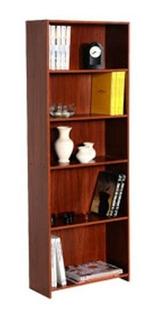 Librero Platinum 5 Niveles Cedro Cod: 0901305 Proyectar