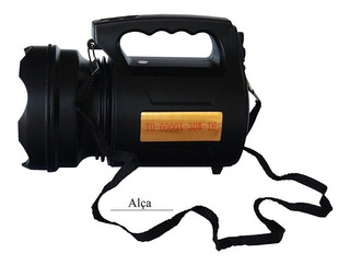 Lanterna Super Potente Led Recarregável 30w Td 6000a T6