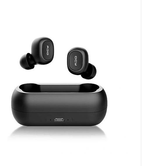 Promoção Fone De Ouvido Duplo Sem Fio Bluetooth 5.0 Qcy Qs1