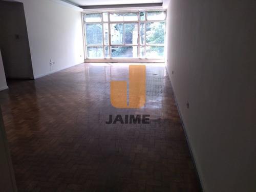 Apartamento Para Venda No Bairro Higienópolis Em São Paulo - Cod: Ja17576 - Ja17576