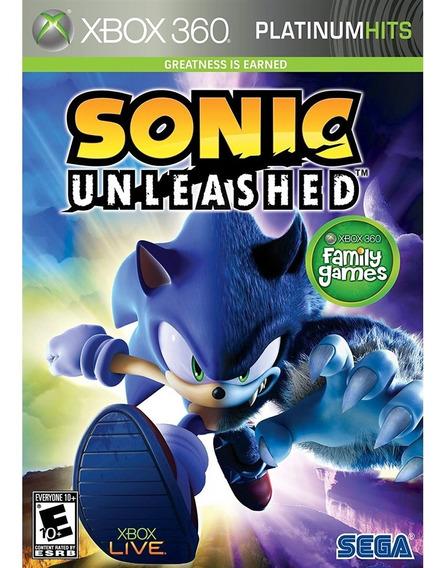 Sonic Unleashed - Xbox 360 Lacrado