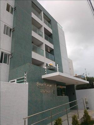 Apartamento Com 3 Dormitórios À Venda, 96 M² Por R$ 370.000 - Bessa - João Pessoa/pb - Ap2331