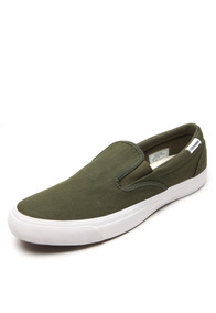 Tenis Converse Slip On All Star Adulto E Inf. Verde Musgo