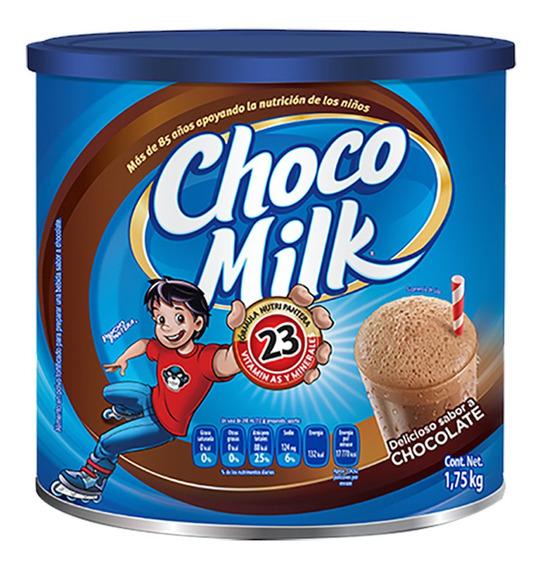 Choco Milk Chocolate En Polvo Leche, Lata De 1.75 Kg