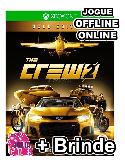 The Crew 2 Gold Edition Xbox One Digital Online + Brinde