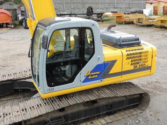 Excavadora Jumbo Kobelco Brazo Largo Sk 250 Lc Dynamic Acera
