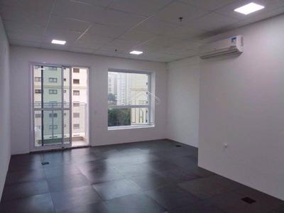 Sala Comercial Para Locação No Bairro Jardim. 32 Metros 1 Vaga. - 8957mercadoli