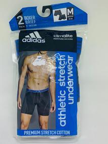 Cueca adidas Climalite Underwear Athetic Stretch 2 Unidades