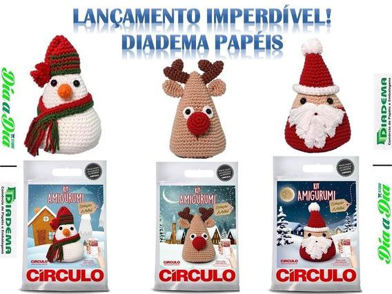 Lançamento Especial De Natal Com 1 Kit Amigurumi Da Círculo!